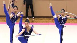 新体操 団体戦① 美しい 妖精