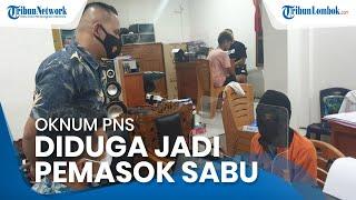 Oknum PNS Lombok Barat Ditangkap karena Diduga Jadi Pemasok Sabu ke Lingkungan Karang Bagu
