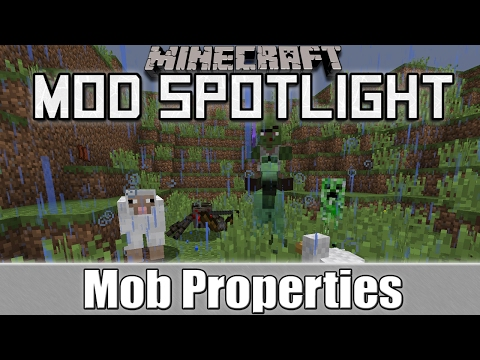 Minecraft Mod Spotlight: Mob Properties (1.10.2/1.7.10)