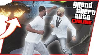 A Car Came FLYING Into Our FIGHT CLUB! - GTA 5 Fight Club