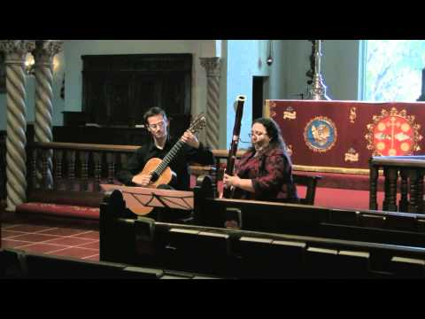 Villa-Lobos Cantilena (Bassoon and Guitar) from 2011 Master's Recital