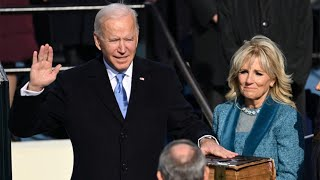 video: Inauguration Day 2021 news: Donald Trump pardons Steve Bannon as Joe Biden prepares to be sworn in as US president - live updates