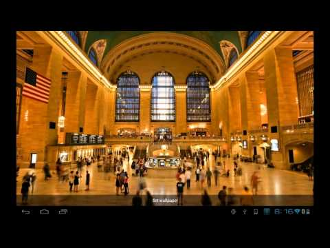 Video of Grand Central Live Wallpaper