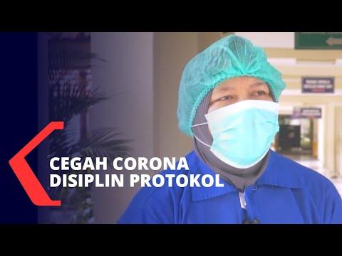 perawat penyintas corona disiplin protokol kesehatan