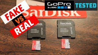 SanDisk Ultra 128GB Micro SD Card Real vs Fake