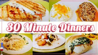 What We Had For Dinner This Week / 30 Minute Meal Ideas