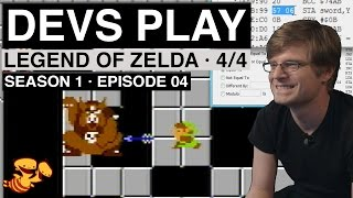 """Devs Play"" S01E04 - Legend of Zelda (Part 4 - Hacking the ROM)"