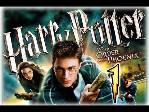 Harry Potter and the Order of the Phoenix Walkthrough Part 1 (PS3, X360, Wii, PS2, PC)