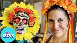 DIY Dia de los Muertos FRIDA Sunflower!
