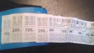 Купил в FUN DAY носки и кучу ценников)))
