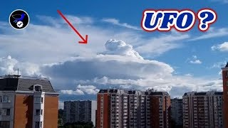 Giant Mothership hiding in the Cloud over Russia,July 8 2018