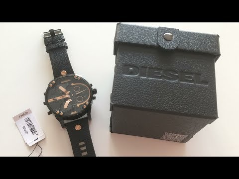 Diesel MR DADDY 2.0  2018 Model Watch Unboxing