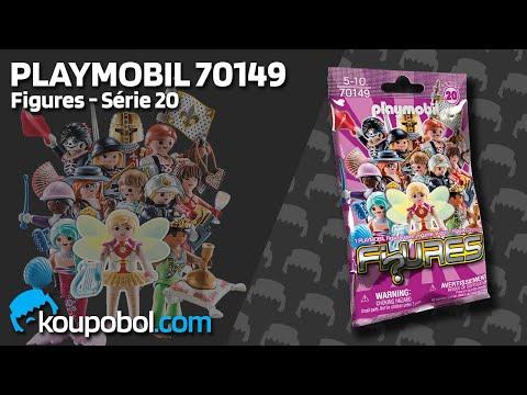 Vidéo PLAYMOBIL Figures 70149 : Figures Filles - Série 20