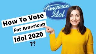 How to Vote For American Idol 2020? / Vote Arthur Gunn