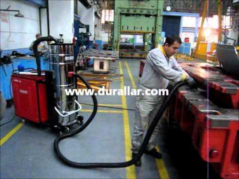 DTM-605 trifaze süpürge Renault Fabrikası Kalıp Temizliği