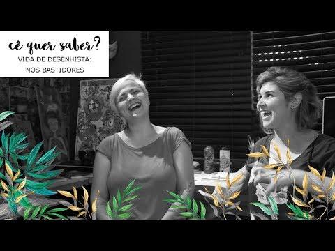 Imagem Video - Nos bastidores... cê quer saber? vida de desenhista: mitos e verdades
