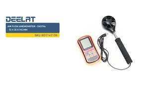 Air Flow Anemometer – Digital - 72 x 35 x 145 mm     SKU #D1141136