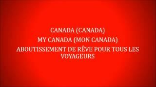 Canada (You're a Lifetime Journey) Lyrics by Eva Avila