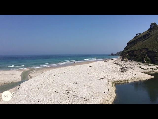 Playa de San Antolin an Spaniens Nordküste
