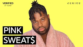 """Pink Sweat$ """"At My Worst"""" Official Lyrics & Meaning   Verified"""