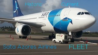 Sata Azores Airlines HISTORIC AND CURRENT FLEET