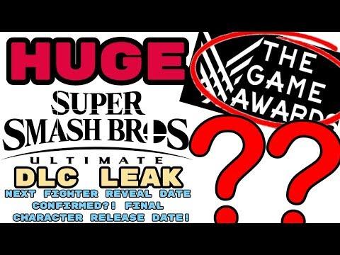 HUGE Smash Ultimate DLC Leak! NEXT FIGHTER REVEAL DATE CONFIRMED?! FINAL CHARACTER RELEASE DATE!