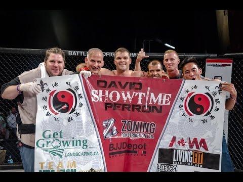 David Showtime Perron vs Ryan Rhino Ballingal MMA Fight