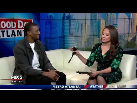 Malcolm Mitchell on Good Day Atlanta