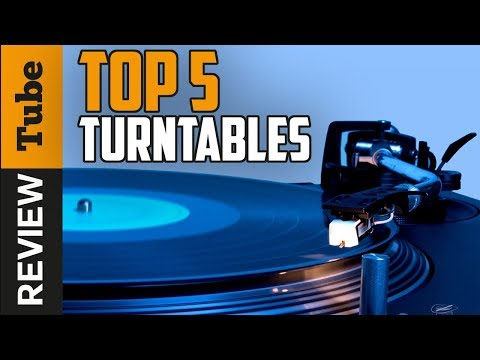 ✅Record Player: Best record player – TurnTable 2018 (Buying Guide)