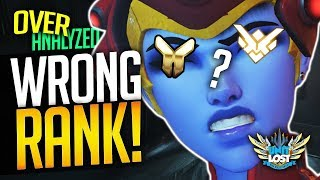 Overwatch Coaching - MY RANK IS WRONG! (says the gold Widow) - [OverAnalyzed]