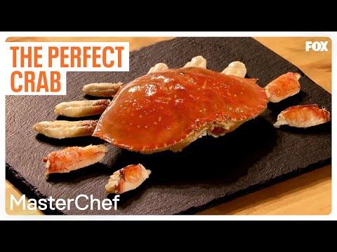 Gordon Ramsay Demonstrates How To Cook The Perfect Crab   Season 9 Ep. 5   MASTERCHEF