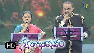 Srirastu Subhamastu Song - SP.Balu,Vasantha Performance in ETV Swarabhishekam 8th Nov 2015