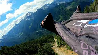 GoPro Hero 9 wing suit footage Pacific North West