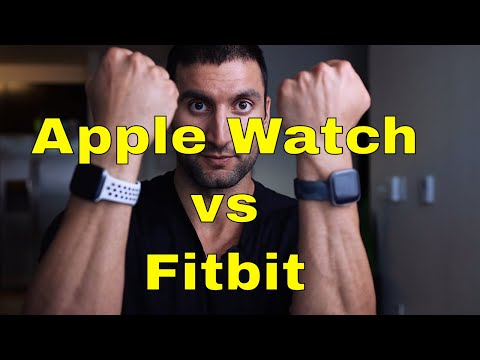 Apple Watch Series 5 vs Fitbit Versa 2