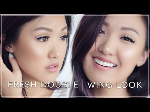 Fresh Double Wing Liner Look | ilikeweylie