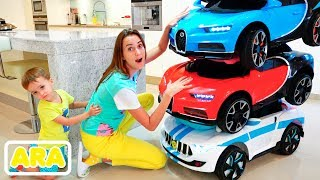 فلاد ونيكيتا   قصص مضحكة عن سيارات للأطفال