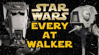 All AT Walker Types and Variants (Legends) - Star Wars Explained