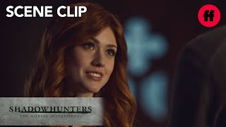 Shadowhunters | Season 2, Episode 12: Sebastian Asks Clary Out | Freeform