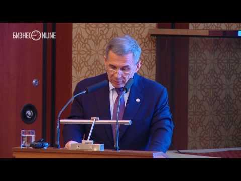 Минниханов открыл форум потребкооперации в Казани, вспомнив о своей работе в райпо