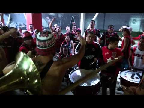 """LDA vs DSA - Previa De La Gloriosa #12 Bajo Norte"" Barra: La 12 • Club: Alajuelense"