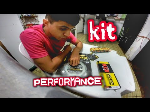 CHEGOU O KIT PERFORMANCE PARA CB TWISTER 2k inscritos TUNANDO A CB TWISTER !