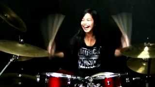 Critical Acclaim - Avenged Sevenfold Drum Cover by Nur Amira Syahira