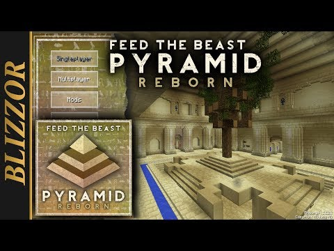 Modpack Preview -  FTB Pyramid Reborn [Showcase] [Deutsch] [GER]