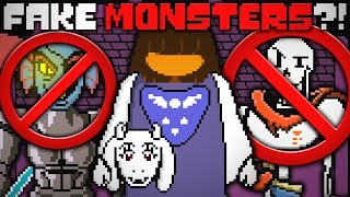 Undertale's Monsters Aren't Really Monsters?! The Bizarre Truth! Undertale Theory | UNDERLAB
