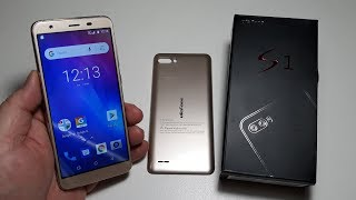 Ulefone S1 MTK6580 Quad Core 1GB RAM 8GB ROM 8MP+5MP 5.5 inch 18:9 три камеры оригинал. Под елочку