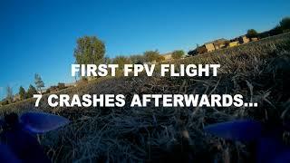 First FPV Rip - Beginner Freestyle Drone Flight