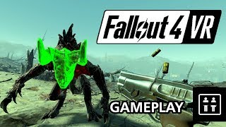 Half An Hour Of Fallout 4 VR (PC HTC Vive) - Gameplay