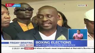 Anthony Otieno elected National Boxing Chairman