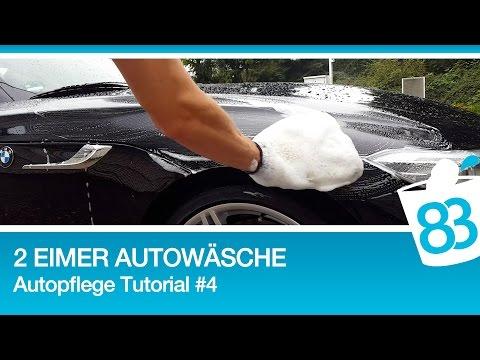 Autohandwäsche - 2 Eimer Autowäsche - Autopflege Tutorial #4