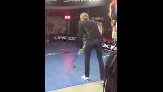Floorball Trickshot By Kim Nilsson